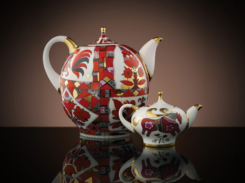 TWG Tea Russian Horse Teapot Set