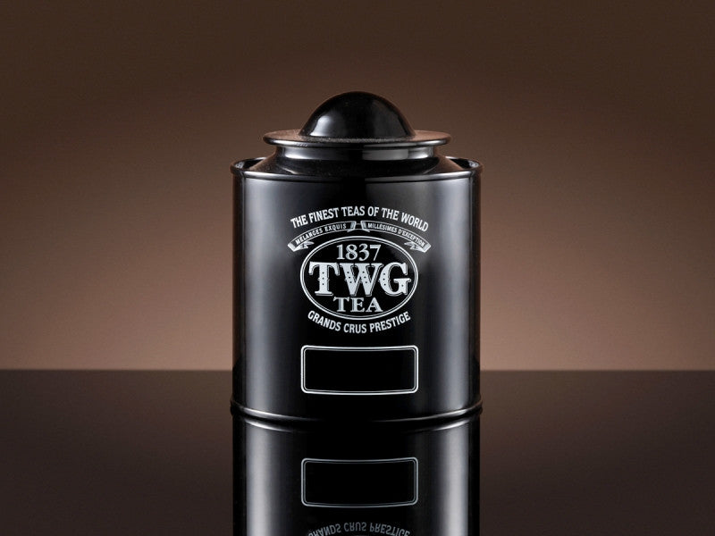 TWG Tea Saturn Tea Tin in Black (100g)
