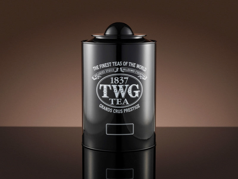 TWG Tea Saturn Tea Tin in Black (250g)