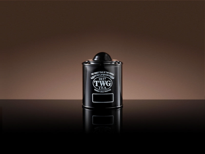 TWG Tea Saturn Tea Tin in Black (50g)