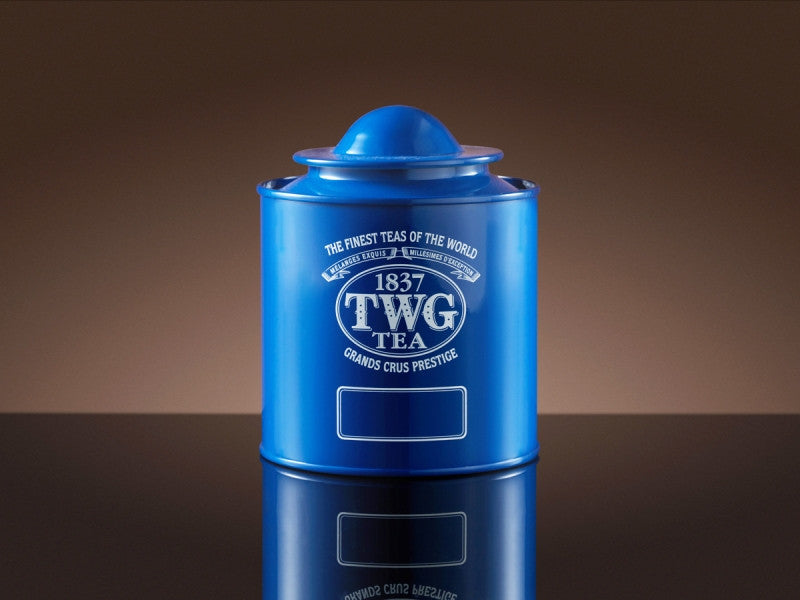 TWG Tea Saturn Tea Tin in Blue (100g)