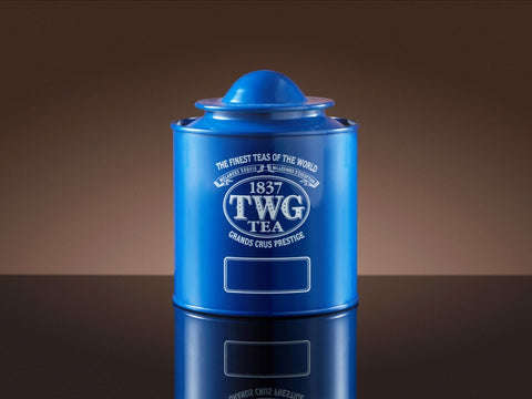 Saturn Tea Tin in Blue (250g)