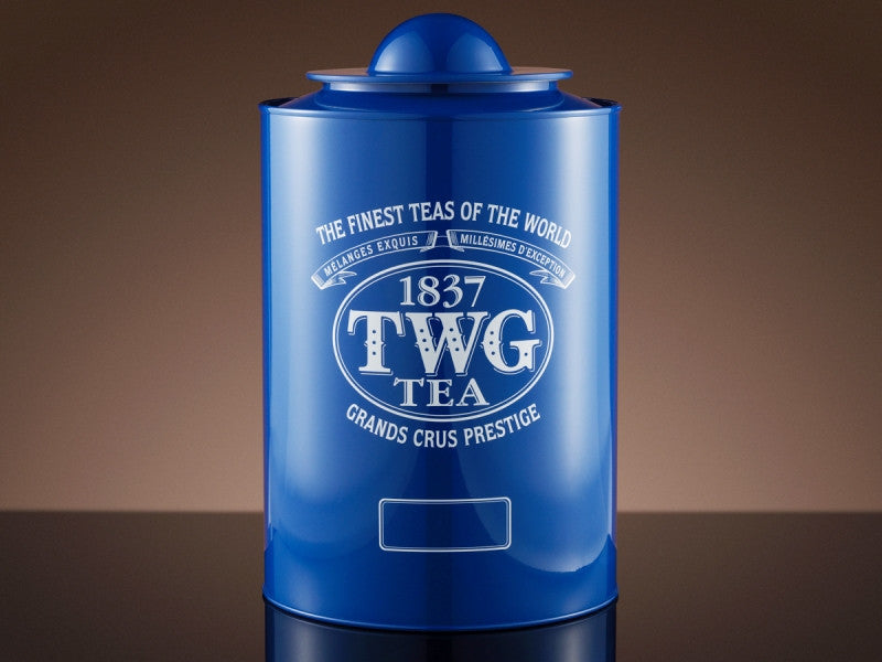 TWG Tea Saturn Tea Tin in Blue (1kg)