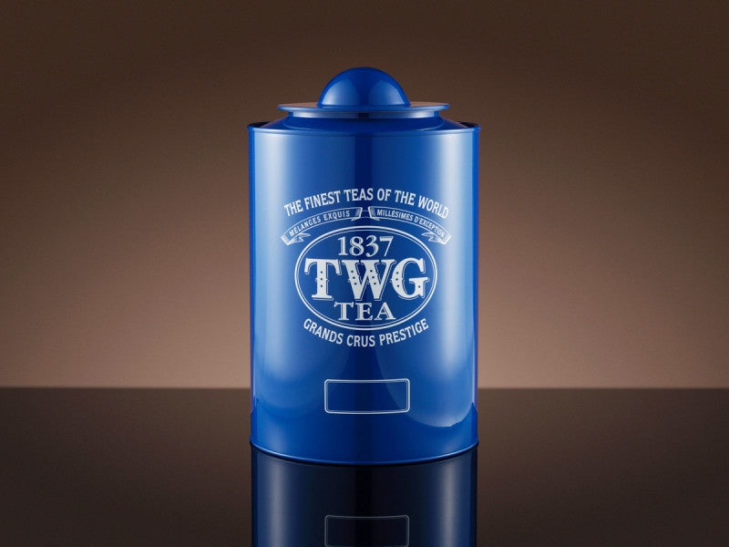 TWG Tea Saturn Tea Tin in Blue (250g)