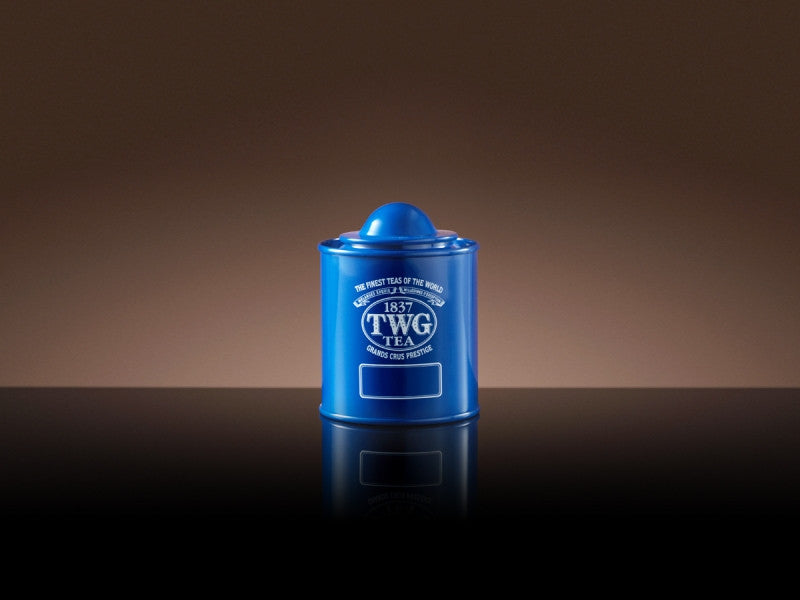 TWG Tea Saturn Tea Tin in Blue (50g)