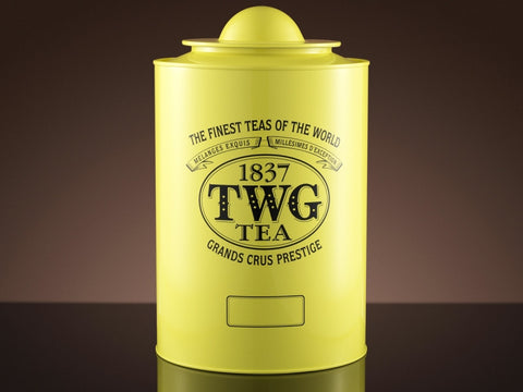 Artisan Tea Tin in Yellow (150g)