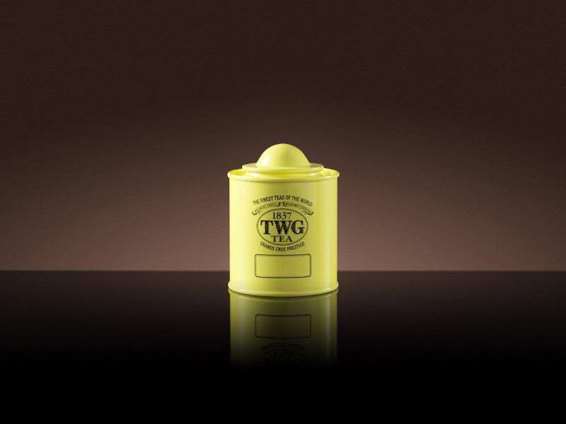 TWG Tea Saturn Tea Tin in Canary Yellow (50g)
