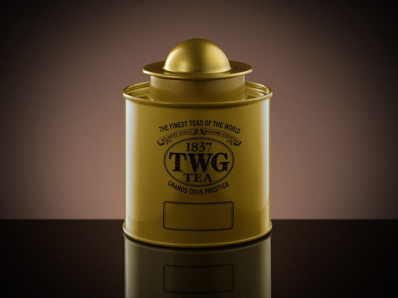 TWG Tea Saturn Tea Tin in Gold (100g)