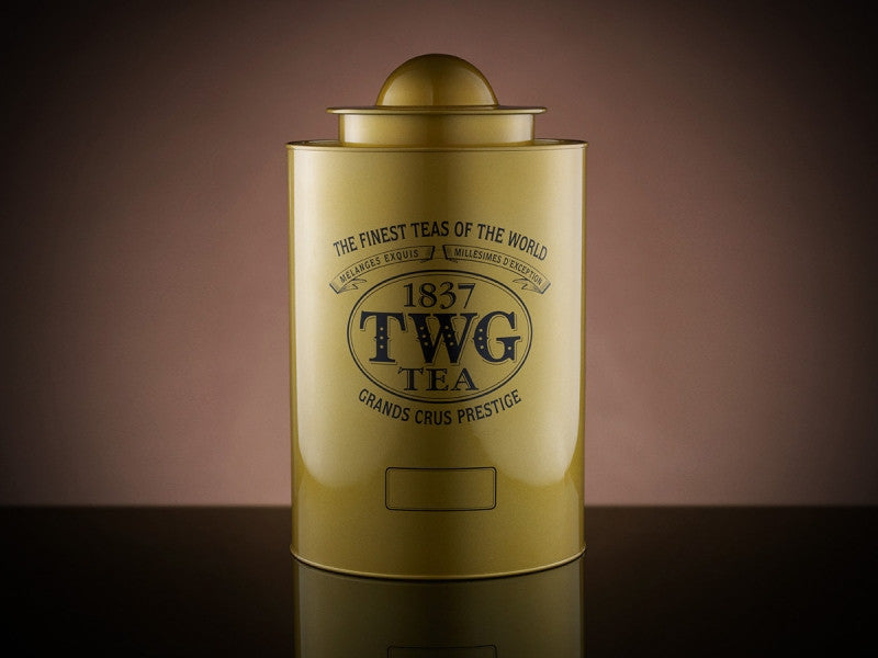 TWG Tea Saturn Tea Tin in Gold (1kg)