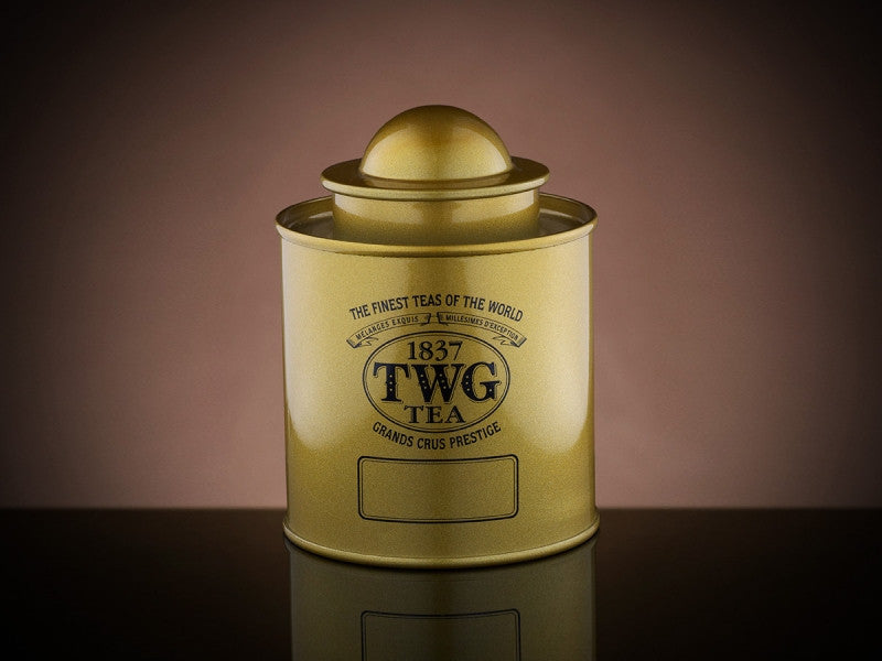 TWG Tea Saturn Tea Tin in Gold (50g)