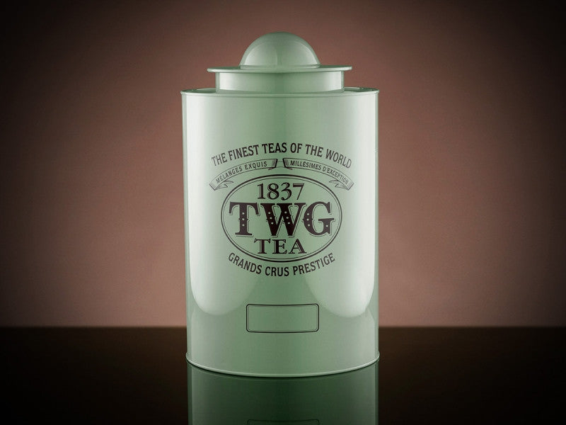 TWG Tea Saturn Tea Tin in Green (100g)