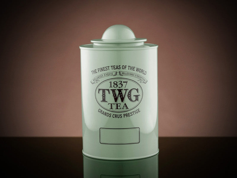 TWG Tea Saturn Tea Tin in Green (250g)