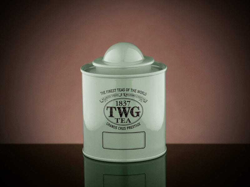 TWG Tea Saturn Tea Tin in Green (50g)