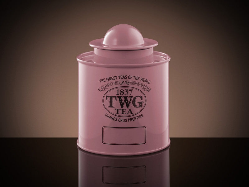 TWG Tea Saturn Tea Tin in Pink (100g)
