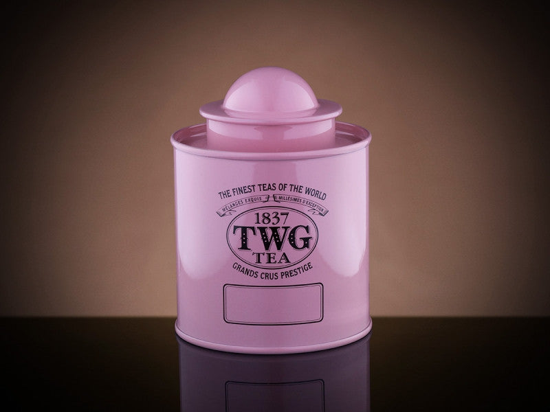 TWG Tea Saturn Tea Tin in Pink (50g)