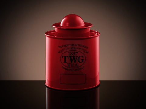 Saturn Tea Tin in Red (50g)