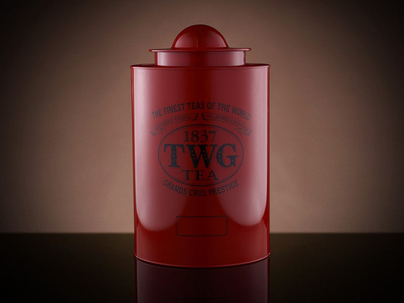 TWG Tea Saturn Tea Tin in Red (1kg)