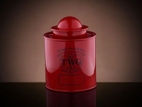 Modern Tea Tin in Red (100g)