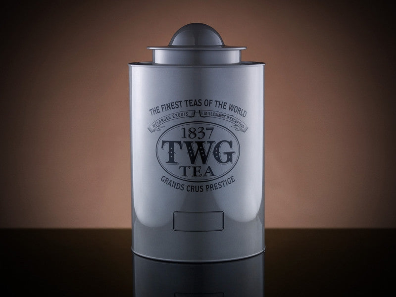 TWG Tea Saturn Tea Tin in Silver (1kg)