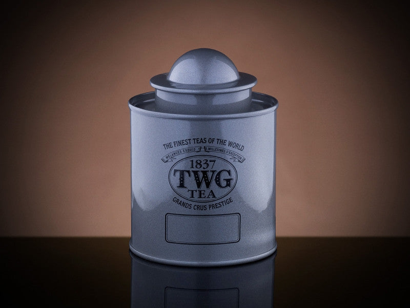 TWG Tea Saturn Tea Tin in Silver (50g)