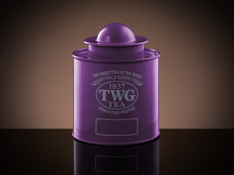 TWG Tea Saturn Tea Tin in Violet (100g)