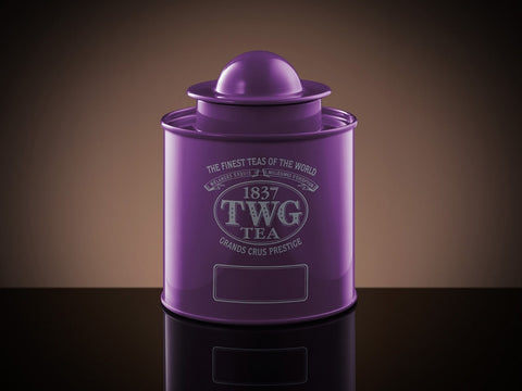 Saturn Tea Tin in Violet (250g)