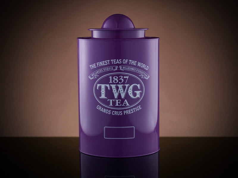 TWG Tea Saturn Tea Tin in Violet (1kg)