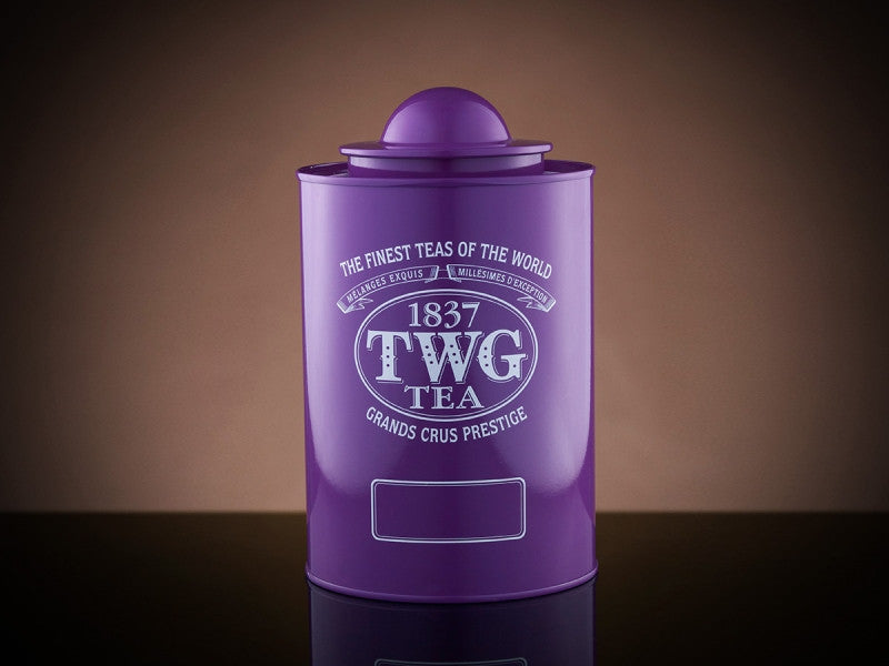 TWG Tea Saturn Tea Tin in Violet (250g)