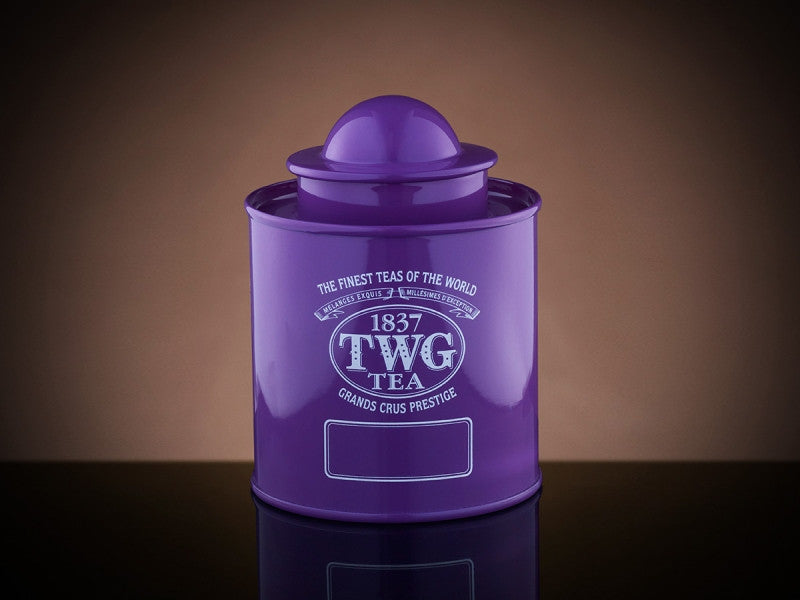 TWG Tea Saturn Tea Tin in Violet (50g)