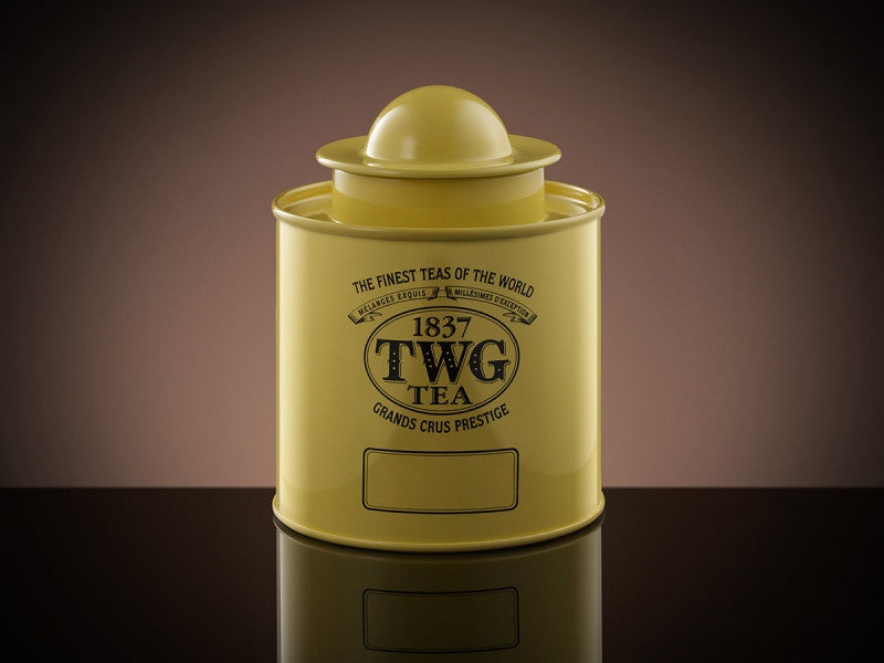 TWG Tea Saturn Tea Tin in Yellow (100g)