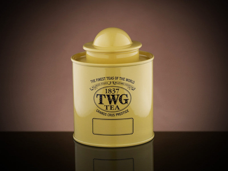 TWG Tea Saturn Tea Tin in Yellow (50g)