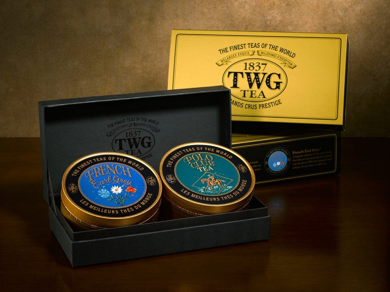 TWG Tea Sweetheart Tea Set Caviar Collection