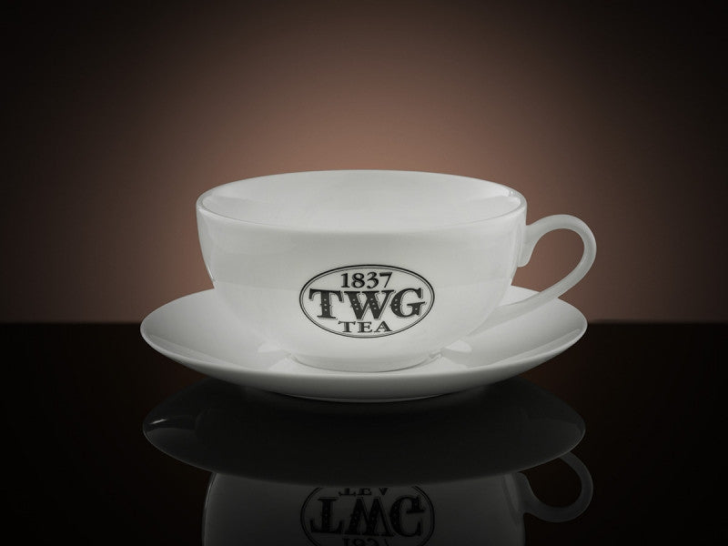 TWG Tea Morning Teacup & Saucer