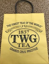 Small TWG Tea Paper Carrier Bag
