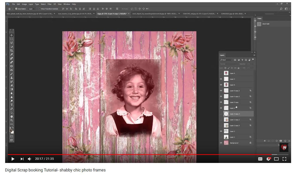 Shabby Chic Photoshop Tutorial