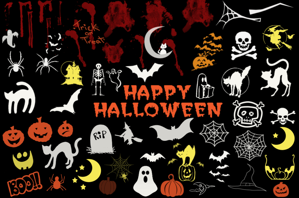 halloween Photoshop brushes 13