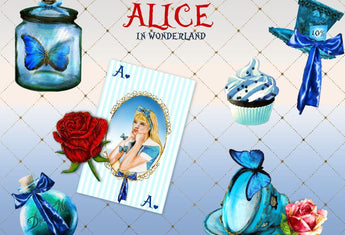 Alice in Wonderland clip art - Photohack Lovers