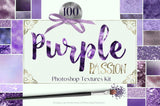 Purple Passion Textures Kit - Photohack Lovers