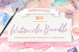 Watercolor Design Bundle - Photohack Lovers