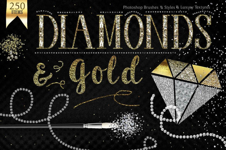 Gold and Diamond Design Kit