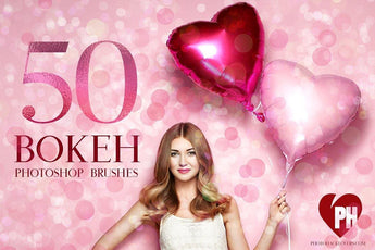 50 Bokeh Photoshop Brushes - Photohack Lovers