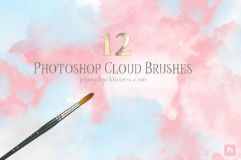 Cloud Photoshop Brushes - Photohack Lovers