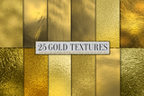 25 Gold Digital Paper - Photohack Lovers