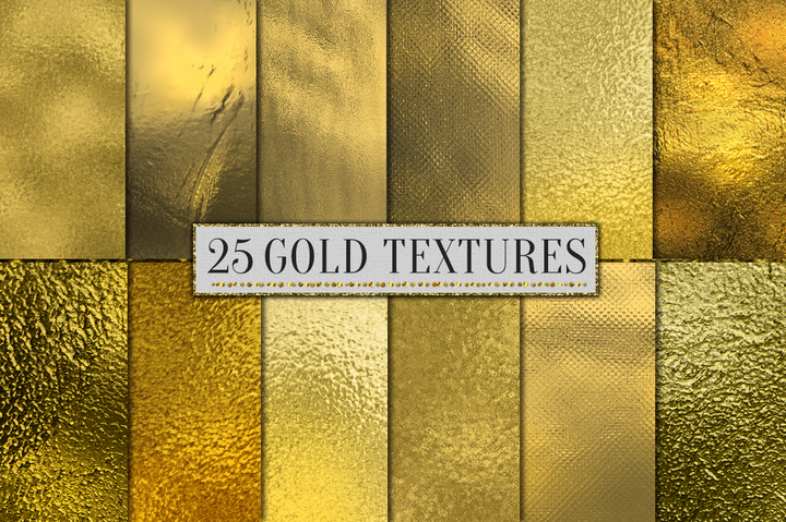 25 Gold Digital Paper