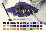 Ultraviolet Stationery & Design Kit