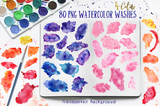 Chic Watercolor Textures Kit - Photohack Lovers