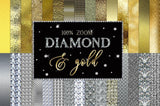 Gold and Diamond Design Kit - Photohack Lovers
