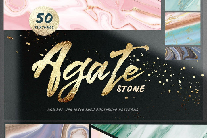50 Agate Stone Textures
