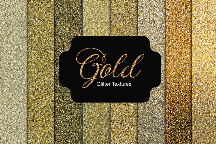 Gold Glitter Textures - Photohack Lovers