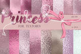 Princess Foil Digital Papers - Photohack Lovers
